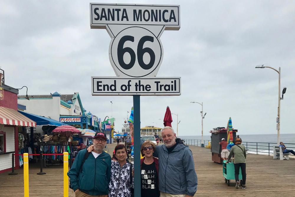 Fin de la Ruta 66, lo conseguimos ¡¡¡