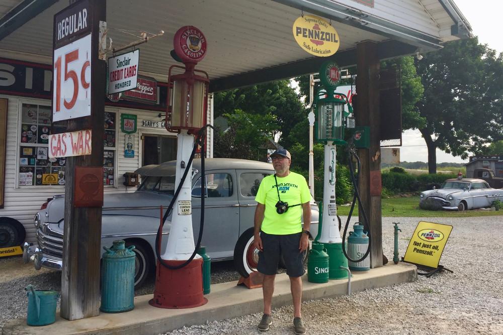La gasolinera de Gay Parita, una parada obligatoria en la Ruta 66