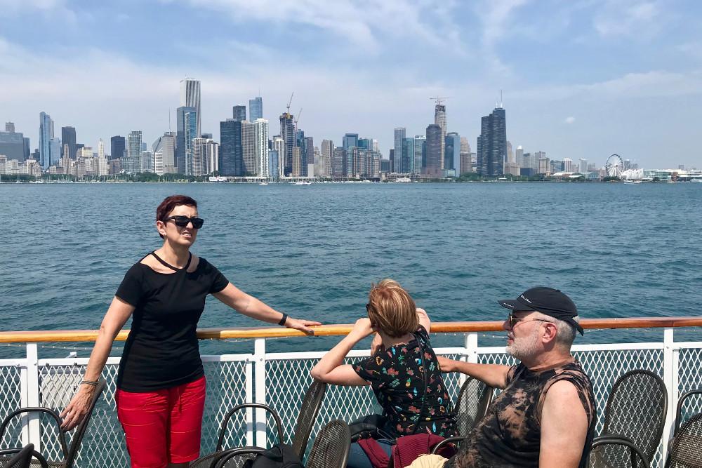 Chicago, descancansando para empezar la ruta con fuerzas