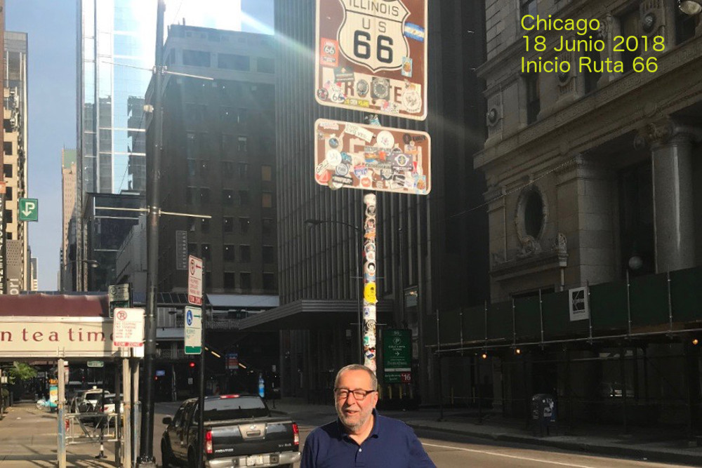 Aquí empezó todo, Chicago día 18 de Junio de 2018