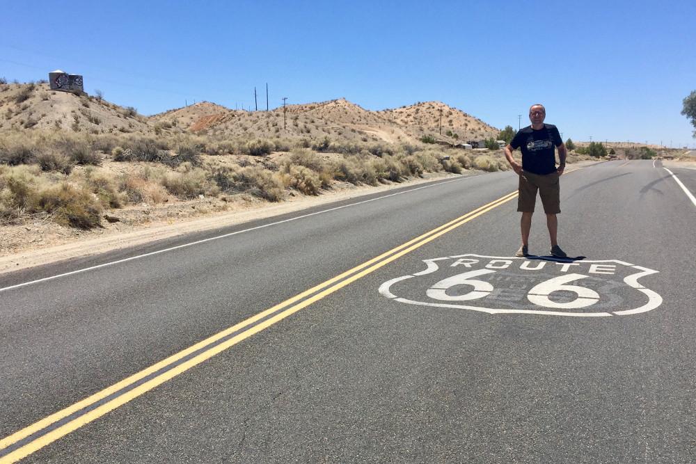 El cualquier sitio (ahora no me acuerdo) de la Ruta 66